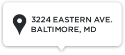 Our Address: 3224 Eastern Ave. Baltimore, MD